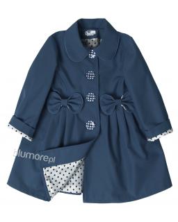 Genialny płaszczyk wiosenny 86 - 134 Stella niebieski