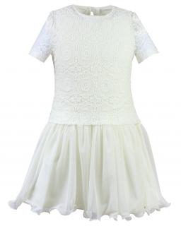 Sukienka z koronką Sofija 146-158
