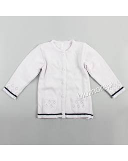 Sweterek na specjalne okazje 92 - 134 DZ-367 biały