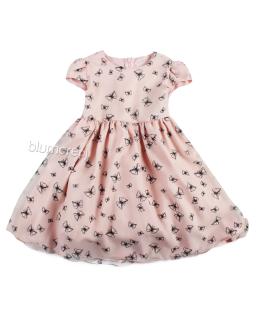 Sukienka Elza 86-110 W motyle