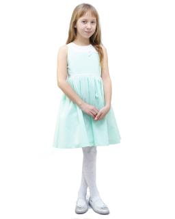 Elegancka sukienka Natalia 134-152 Miętowa