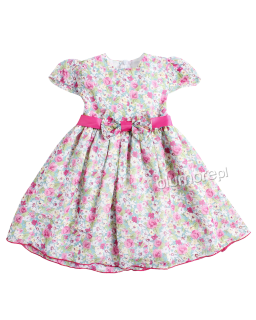 Letnia sukienka Laila 86-122 W kwiaty