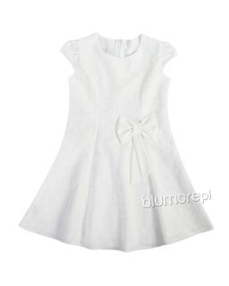 Subtelna sukienka Kora 134-152 ecru