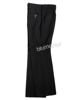 Eleganckie spodnie 128-152 Bruno czarne