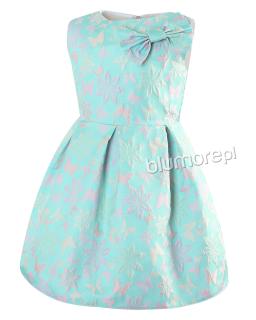 Sukienka w pastelowym kolorze 128-158 Tina multikolor