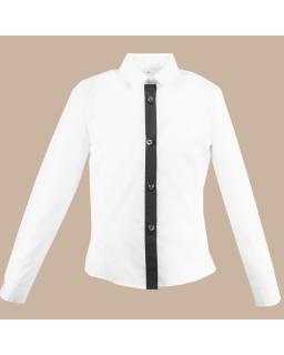 Klasyczna koszula 122-152 Teja czarny
