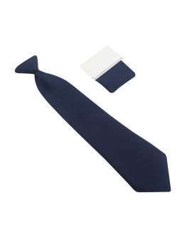 Dziecięcy krawat w czerwonym kolorze w kropki 28 cm