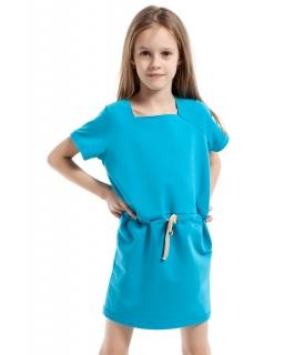 Sportowa sukienka ze ściągaczem 98-140 KI026 Trzy kolory