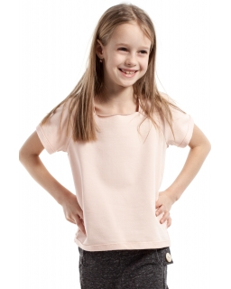 Klasyczna bluzeczka dziewczęca 98-140 KI025 Trzy kolory