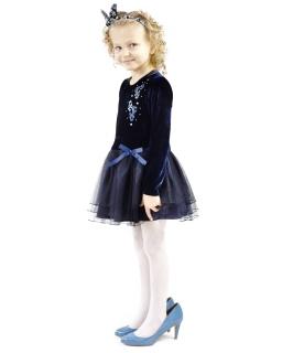 Wyjątkowa sukienka z długim rękawem 116 Amelia 3