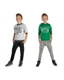 Chłopięcy dresy w stylu baggy 116-158 KR66 dwa kolory