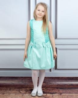 Piękna stylowa sukienka 140-146 Irmina mięta