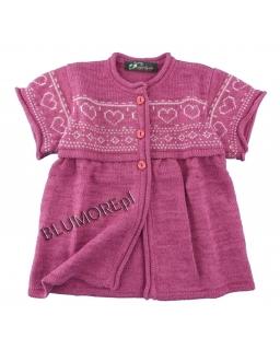 Cudny i uroczy sweter dla dziewczynki 68 - 104