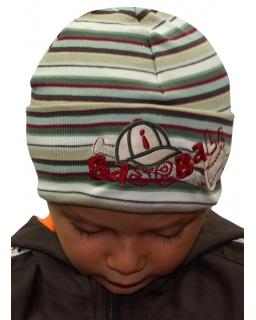 Czapka dla chłopca doskonała ochrona przed wiatrem 47 - 50