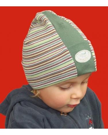 Chłopięca czapka przejściowa na wiosnę i jesień 52 - 54