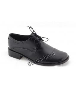 Czarne buty do komunii Zarro dla chłopca 26 - 38