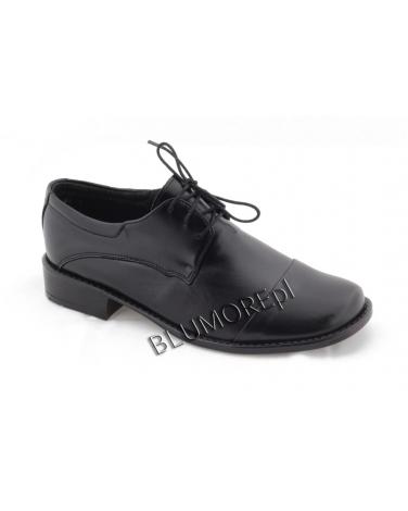 Czarne buty do komunii Zarro dla chłopca 31 - 38