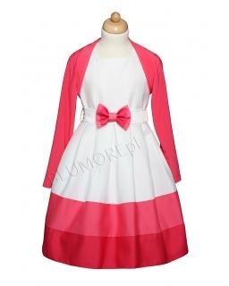 Suknia z bolerkiem dla dziewczynki na różne okazje 134 - 158