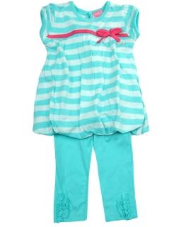 Komplet dla dziewczynki getry i bluzeczka 68-86 Zasia