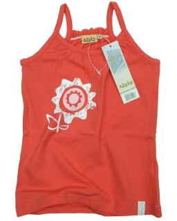 Bluzka na ramiączkach dla dziewczynki 116 - 122