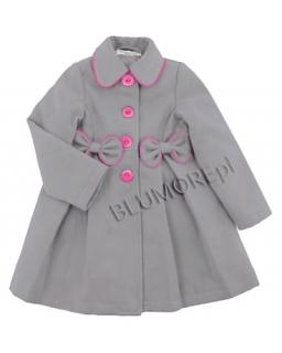 Wytworny płaszczyk dla dziewczynki 86-134 Kimi
