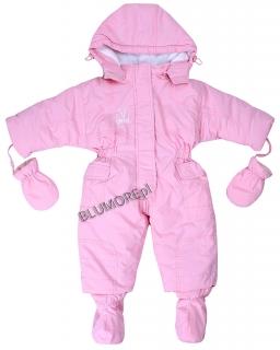 Kombinezon zimowy z bucikami i rękawiczkami 74 - 98 Binka