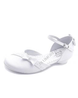 Firmowe, białe buty komunijne 30 - 36 Anna