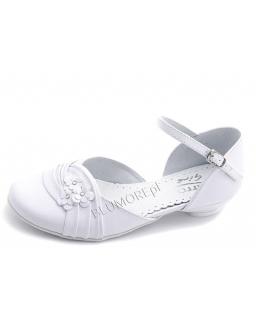 Buty z małym obcasikiem na komunię 30 - 38 Nel