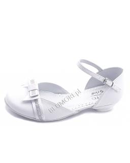 Firmowe białe buciki na komunię 27 - 36 Aurora