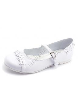 Białe buciki na komunię 27 - 36 Widia