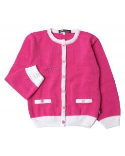Uniwersalny różowy sweterek 92 - 146 Arleta