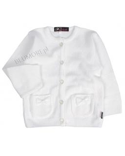 Elegancko-sportowy sweterek dla dziewczynki 56 - 104 Jagoda