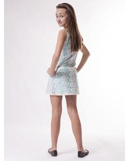 Sukienka z koronki prosta i elegancka 128 - 164 Lusi