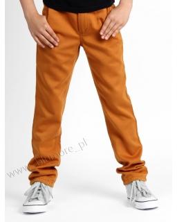 Lekkie spodnie chłopięce rurki slim 110 - 164 Alek