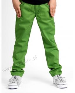 Lekkie spodnie chłopięce rurki slim 104 - 170 Alek