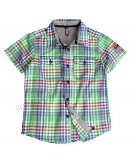 Lekka koszula chłopięca w kratkę 128 - 164 KS2