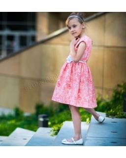 Piękna wzorzysta sukienka dziewczęca 74 - 158 Amanda