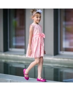Sukienka z koronki dla dziewczynki 128 - 152 Kamila