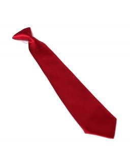 Krawat dziecięcy na gumce złoty 30 cm