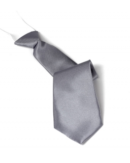 Krawat dziecięcy na gumce fuksja 30 cm