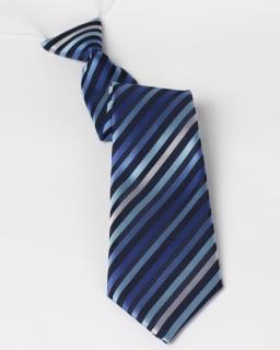 Krawat dziecięcy na gumce różowy 29 cm