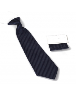 Krawat dziecięcy na gumce z wypustką 29 cm