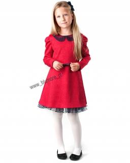 Sukienka na szczególne okazje 128 - 158 Bogna szara