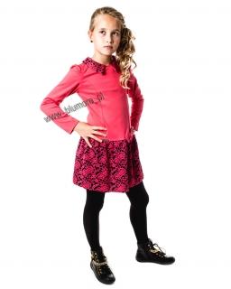 Elegancka sukienka dla dziewczynki 128 - 152 Izyda malinowa