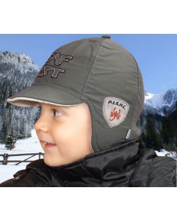 Wiązana czapka pilotka na lepienie bałwana 48