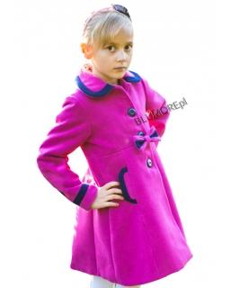 Elegancki płaszczyk dla dziewczynki 86 - 140 Virginia amarant