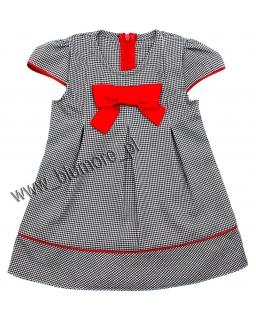 Słodka sukienka dla maluszka 80 - 122 Basia pepitka