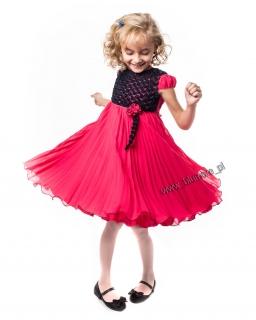 Cudna sukienka na wielkie wyjście 110 - 134 Ismena czerwona