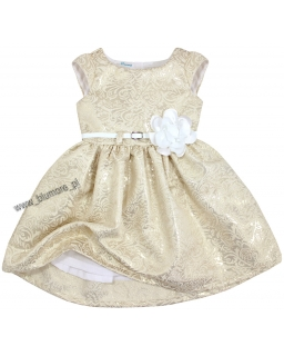 Wyjątkowo piękna suknia ze złota 74 - 152 Tacjana złoto