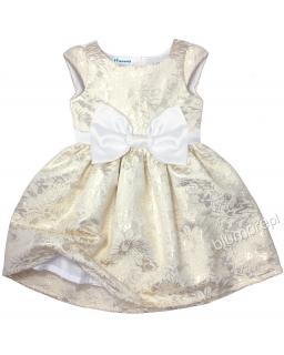 Zjawiskowo piękna suknia ze złota 74 - 152 Eliza złoto